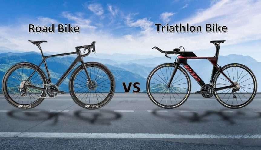 Road bike vs Triathlon bike